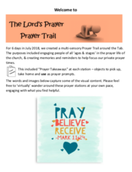 Prayer Trail Frontpage